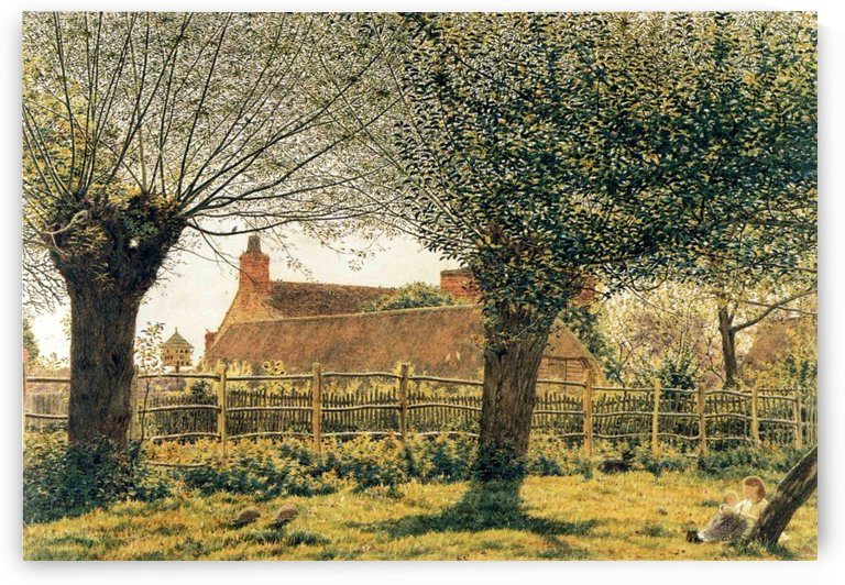 At Binsey, Near Oxford by George Price Boyce
