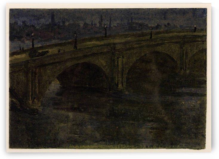 Moonlight Sketch by George Price Boyce