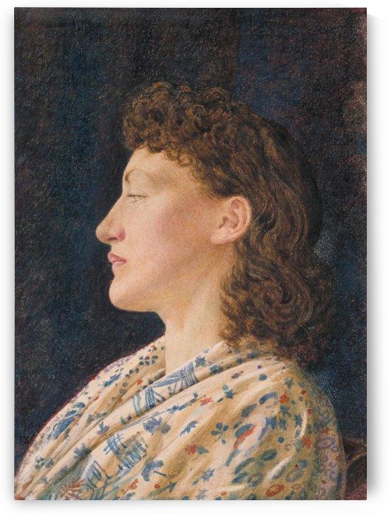 A Girl's Portrait by George Price Boyce