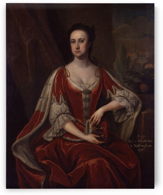 Anne Hatton, Countess of Winchilsea by Jonathan Richardson