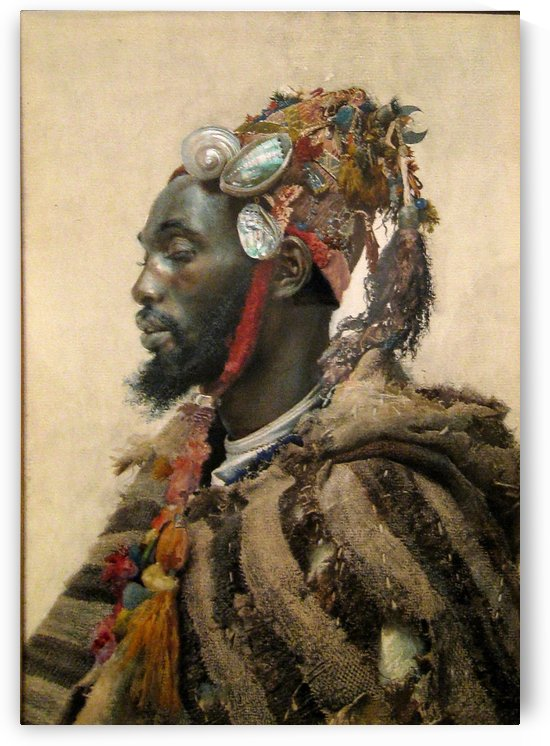 Moroccan portrait by Josep Tapiro Baro