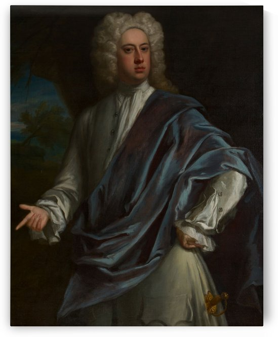 Portrait of Brownlow, 8th Earl of Exeter by Jonathan Richardson
