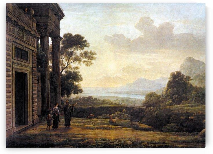 Die Verstosung der Hagar 1668 by Claude Lorrain