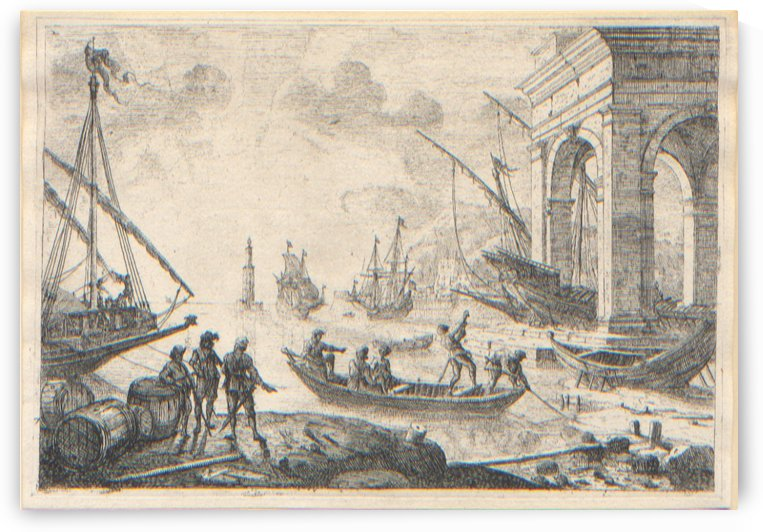 Port de Mer au Fanal by Claude Lorrain