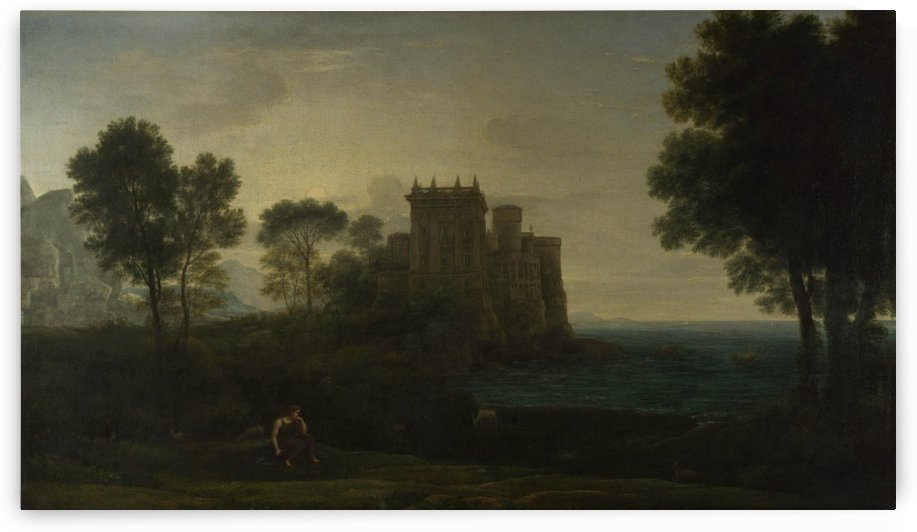 The Enchanted Castle by Claude Lorrain