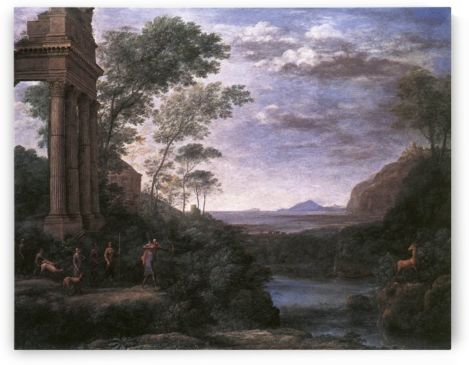 Lorraine and Tate by Claude Lorrain