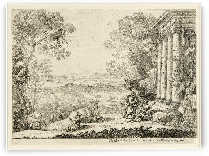 Mercure et Argus 1662 by Claude Lorrain