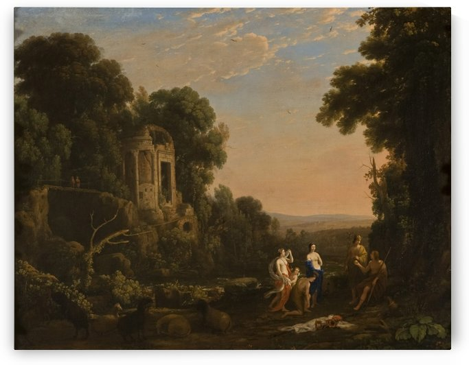 Judgement of Paris by Claude Lorrain