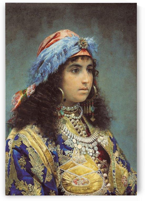 A Tangier woman by Josep Tapiro Baro