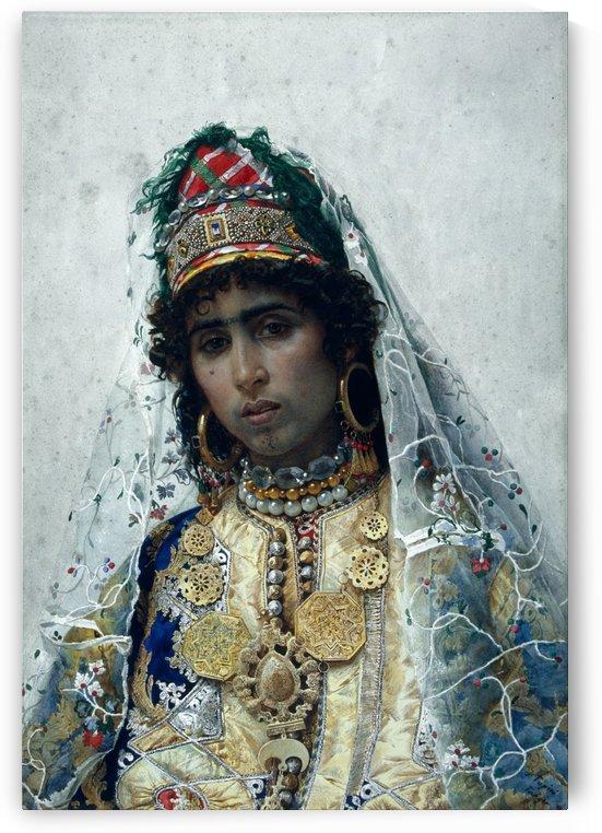Berber Bride by Josep Tapiro Baro