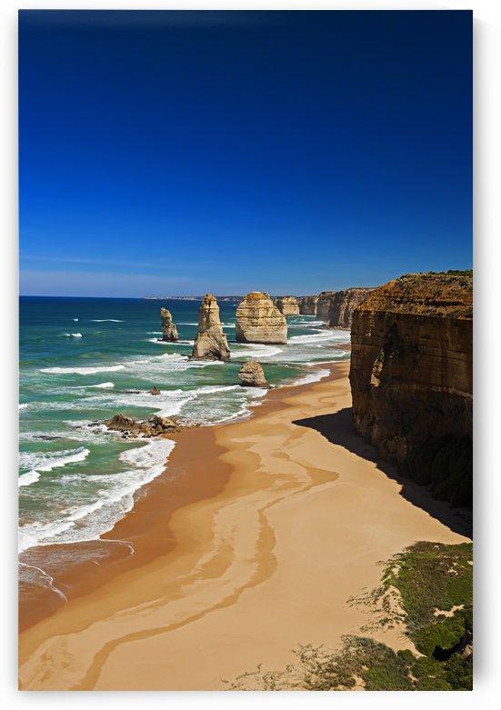 Twelve Apostles on the Great Ocean Road Australia by Maxwell Jordan