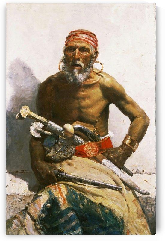 An old style warrior by Josep Tapiro Baro