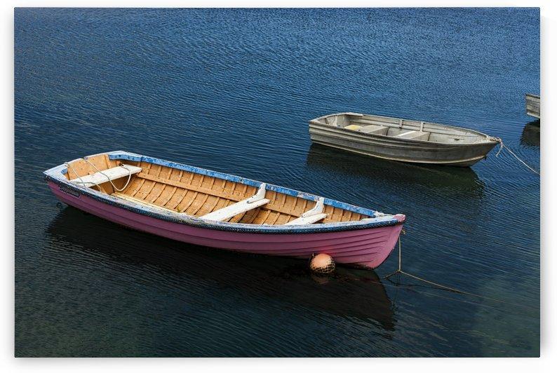 Pink Boat at Apollo Bay by Maxwell Jordan