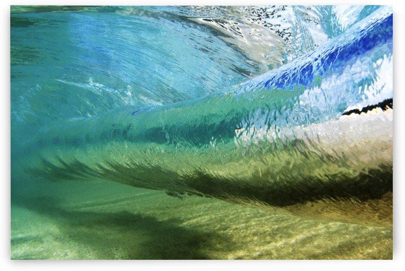 Underwater View Of Wave by Printscapes