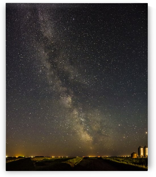 early Summer Milkyway on a country road by MJB