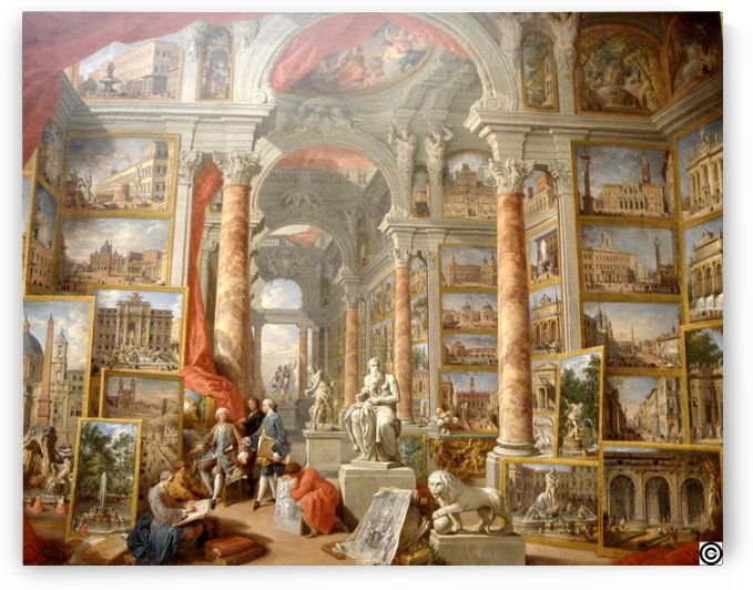 Modern Rome by Giovanni Paolo Panini