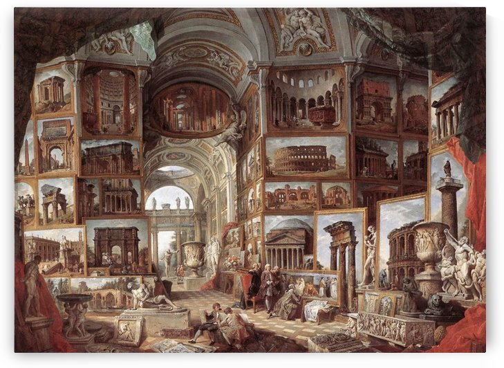 Ancient Rome by Giovanni Paolo Panini
