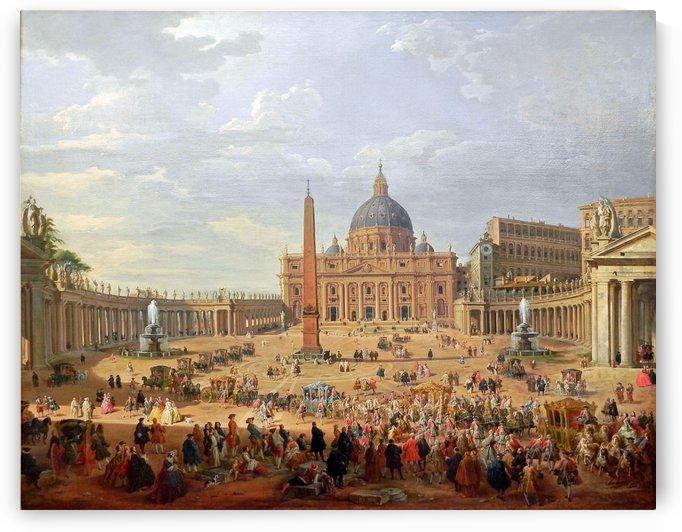 Piazza di San Pietro by Giovanni Paolo Panini