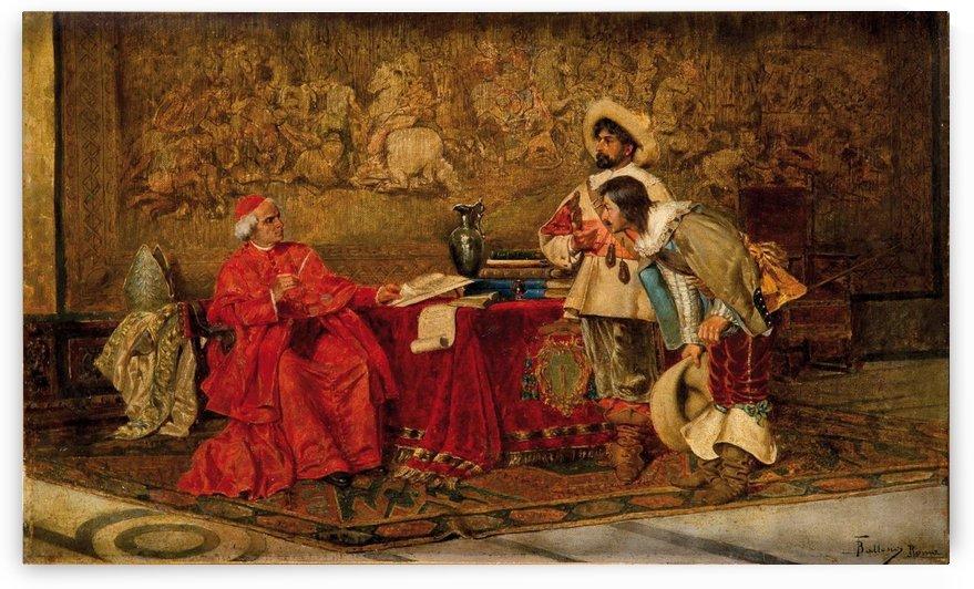 La audiencia del cardenal by Francesco Ballesio