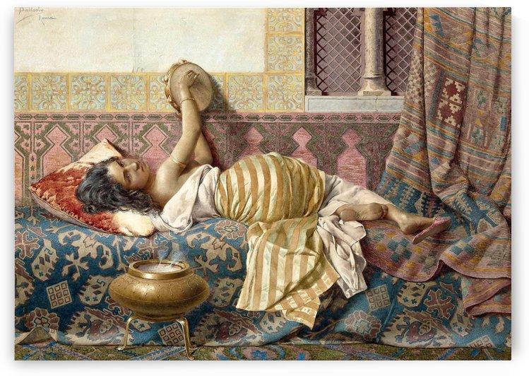 Oriental singer by Francesco Ballesio