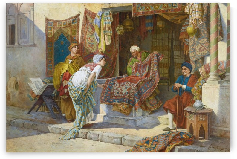 Buying a carpet by Francesco Ballesio