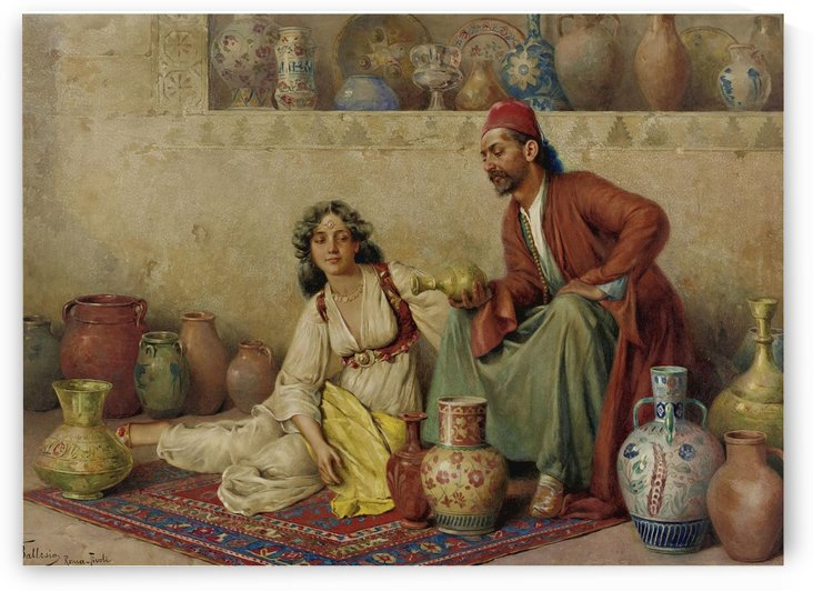 Selling pots by Francesco Ballesio