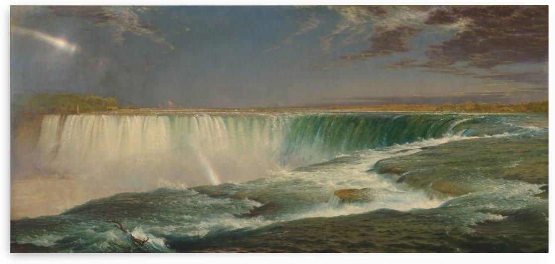 Niagara Falls, 1857 by Frederic Edwin Church