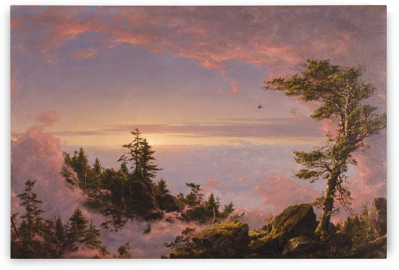 Church Above the Clouds by Frederic Edwin Church