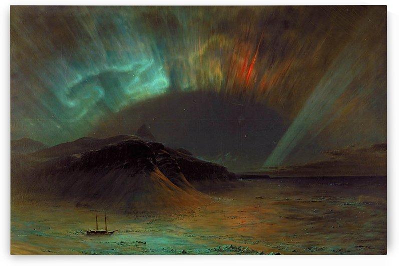 Desert island and Ecuador by Frederic Edwin Church