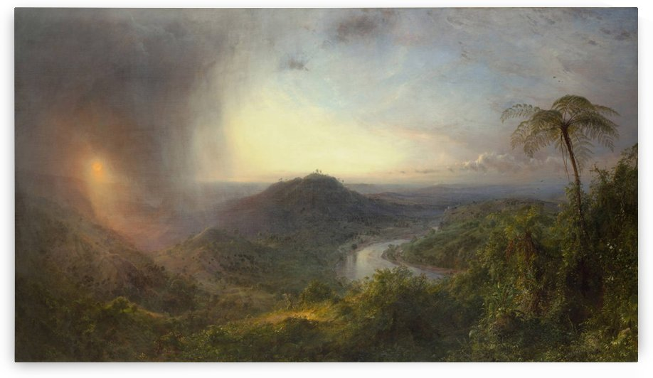In Jamaica by Frederic Edwin Church
