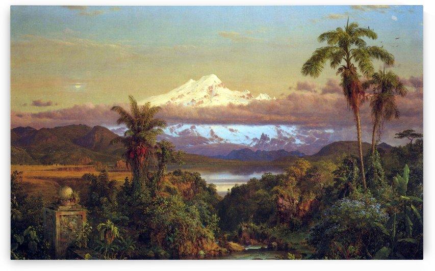 Cayambe by Frederic Edwin Church