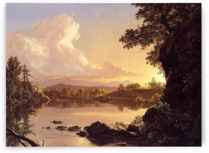 Catskill Creek, New York by Frederic Edwin Church