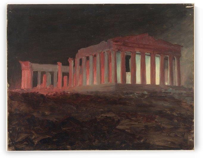 Church's Parthenon by Frederic Edwin Church