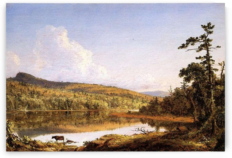 North Lake by Frederic Edwin Church