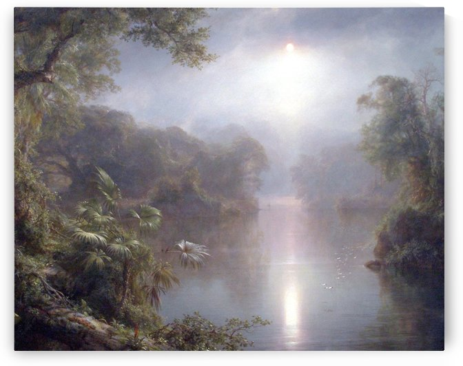 Morning at the tropics by Frederic Edwin Church