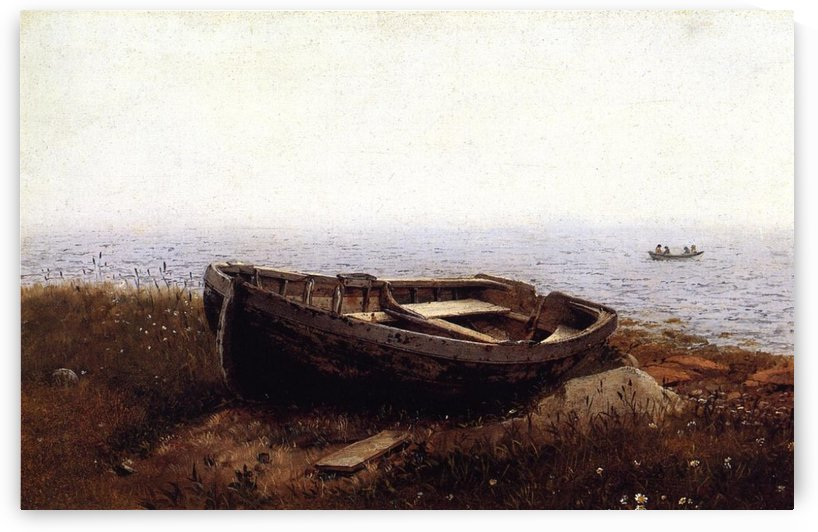 The old boat by Frederic Edwin Church