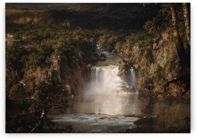 El corazon de Los Andes by Frederic Edwin Church