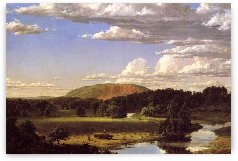West Rock New Haven 1849 by Frederic Edwin Church