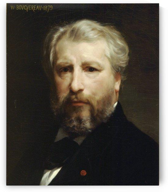 Portrait de lartiste by William-Adolphe Bouguereau