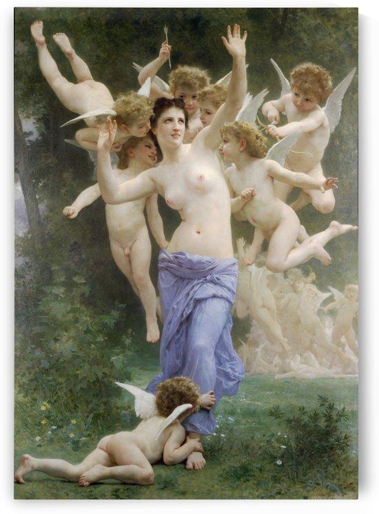 Le Guepier by William-Adolphe Bouguereau
