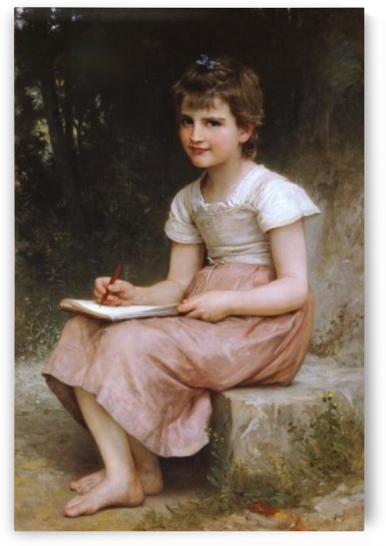 Vocation by William-Adolphe Bouguereau