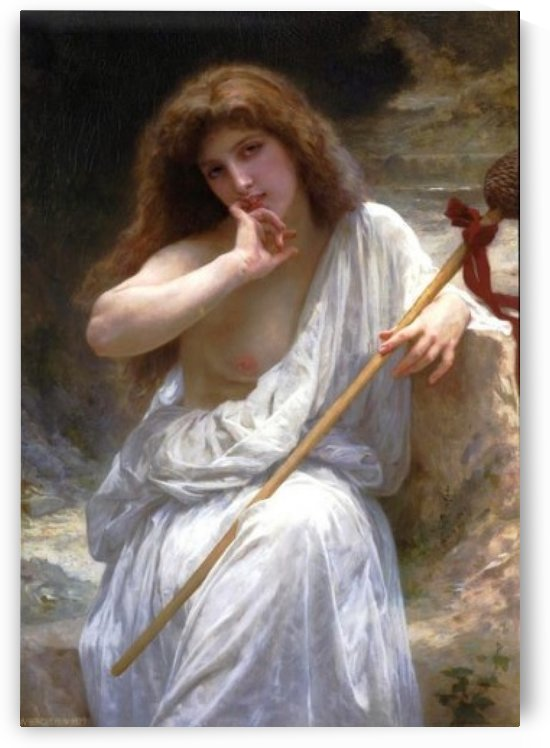 Bachantte 1899 by William-Adolphe Bouguereau