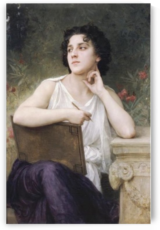Inspiration by William-Adolphe Bouguereau