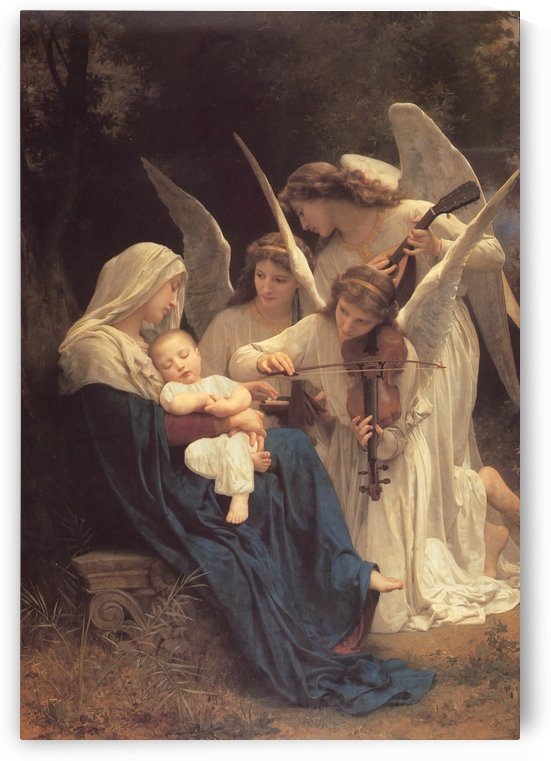 Song of the Angels 1881 by William-Adolphe Bouguereau