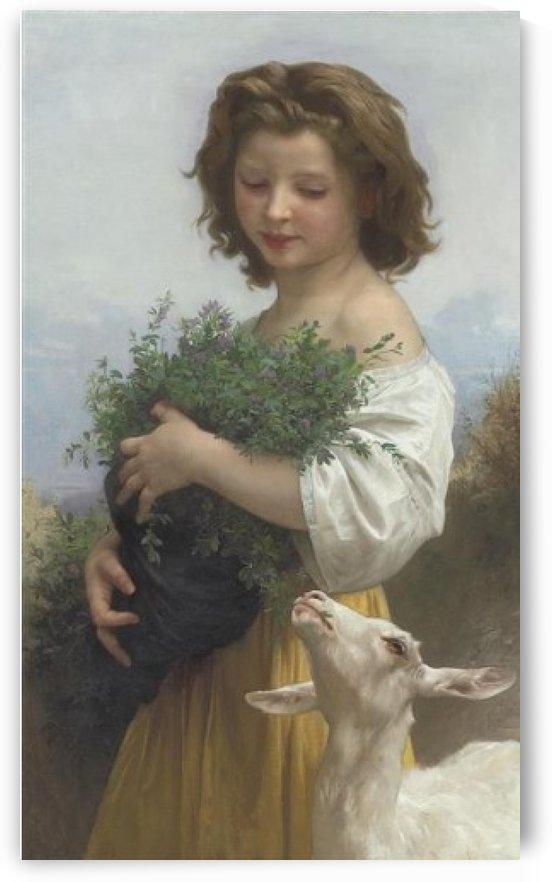 Las Esmeralda by William-Adolphe Bouguereau