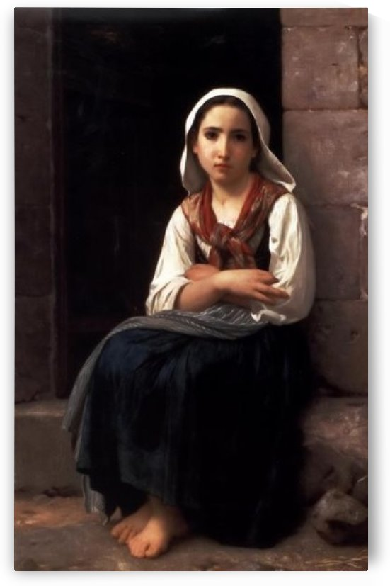 Yvonette by William-Adolphe Bouguereau