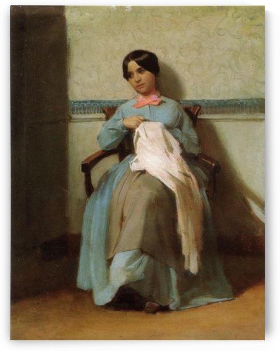 Portrait of Leonie by William-Adolphe Bouguereau