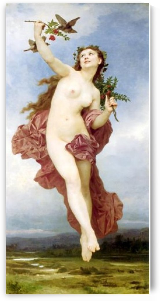 Le jour by William-Adolphe Bouguereau