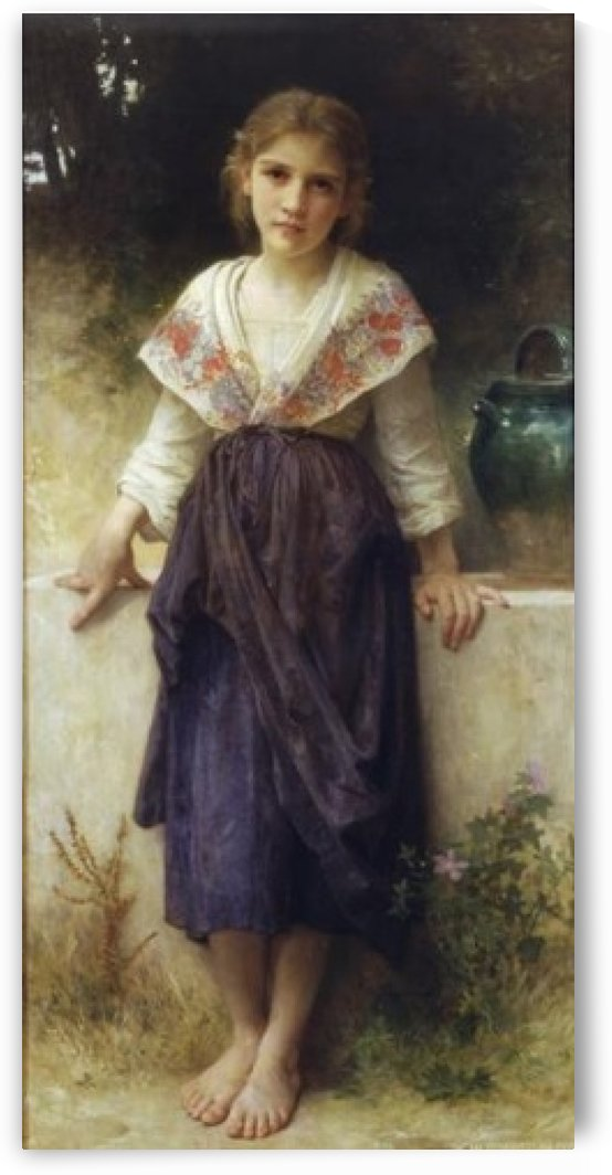 A moment of rest by William-Adolphe Bouguereau