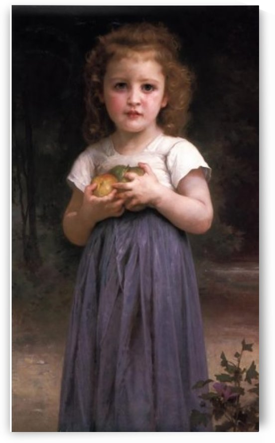 Teen and children by William-Adolphe Bouguereau